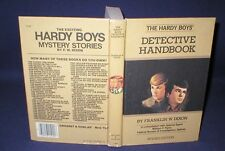 THE HARDY BOYS DETECTIVE HANDBOOK~1985 PRINTING~HARDCOVER~FRANKLIN W. DIXON