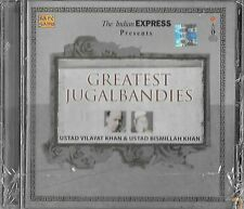 USTAD VILAYAT KHAN & USTAD BISMILLAH KHAN - PLUS GRAND JUGALBANDIES - CD NEUF