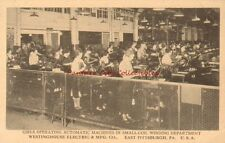 Vintage Postcard Westinghouse Electric Girls Pittsburgh Pennsylvania Antique PC