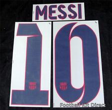 Barcelona Messi 10 Football Shirt Name/Number Set Away Player Size 2012-2014