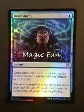 TEMPESTA CEREBRALE -  BRAINSTORM FOIL ENG  - MTG MAGIC [magicfun]