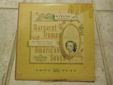 "Margaret Truman/Robert Shaw - American Songs (10"" LP, RCA/Victor LM-57) G/VG"