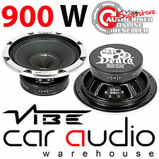 Vibe BlackDeath Pro BDPRO12M-V1 12 Inch 900 Watt Midrange Car Subwoofer Speaker