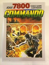 Commando - Atari 7800 - Replacement Case - No Game