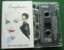 Eurythmics We Too Are One inc Angel & Don't Ask Me Why + Cassette Tape - TESTED