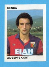 CALCIO FLASH '84 -Figurina n.84- CORTI - GENOA -Recuperata