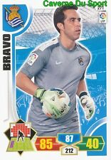 N°271 CLAUDIO BRAVO CHILE REAL SOCIEDAD CARD PANINI ADRENALYN LIGA 2014