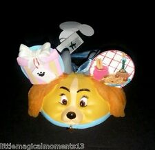 DISNEY PARKS LADY AND THE TRAMP TWO SIDED ORNAMENT DOG COCKER SPANIEL