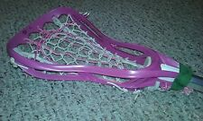 "Girls STX LEVEL Purple Head/AL6000 Shaft Lacrosse Stick+Case 43""-Nice Shape!"