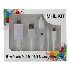 MHL KIT a HDMI adattatore multimediale intera 1080p micro 5pin per S5/S4/S3 HTC