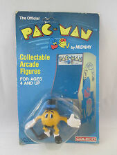 Pac-Man Collectable Arcade Figures Mr. Pac-Man 1980 Coleco Midway NEW Figure