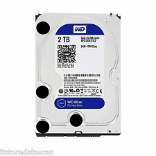 "WD 2TB Desktop Internal Sata Hard Disk Drive 3.5"" Western Digital WD20EZRZ *"