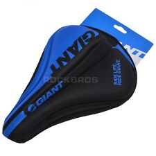 Blue Giant Cycling Bike 3D Silicone Gel Pad Seat Saddle Cover Soft Cushion