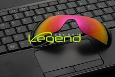 E35 FUCSHIA/GOLD ETCHED POLARIZED Replacement Legend Lenses For Oakley BATWOLF