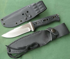 Y-START HK2007 AUS-8A Blade Micarta handle Survival Fixed Knife UP+Kydesx Sheath