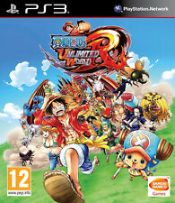 ONE PIECE UNLIMITED WORLD RED Straw Hat EDITION PS3 * NUOVO SIGILLATO PAL *