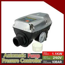 Automatic Shower Booster Water Pump Pressure Control Adjustable Switch 0-170psi