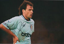 Uwe ROSLER SIGNED Autograph 12x8 Photo AFTAL COA Manchester City WIGAN