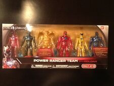 POWER RANGERS MOVIE TARGET EXC POWER RANGERS TEAM METALLIC COLOR FREE SHIPPING!!