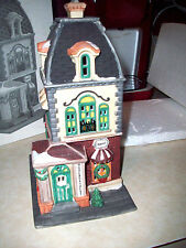 DEPARTMENT 56 Heritage HABERDASHERY Christmas In The City Series Lighted House