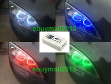 WiFi RGB Ring For MAZDA 3 Super Bright LED SMD Angel Eyes DRL Flash Strobe Demon