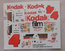 Slixx decals for #4 Kodak Gold Monte Carlo DECAL 1/24 6727-9030