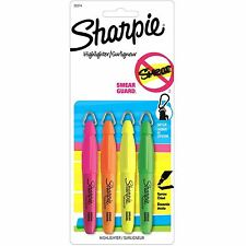 Sharpie Accent Mini Asst 4cd (Sharpie 20374) - 4/pk