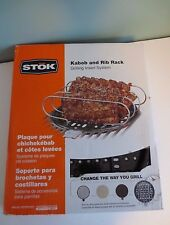 Awesome NEW in Box STOK Kabob and Rib Rack Grilling Insert System - SIS3000