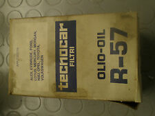 TECNO CAR FILTRO OLIO MOTORE R 57 OIL FILTER NOS AUDI FIAT MORGAN LOTUS VW NSU