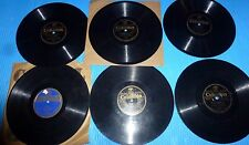 "Ted Lewis 6X10"" 78rpm Lot NEW ST. LOUIS BLUES, BIMINI BAY, WHISTFUL AND BLUE"