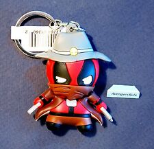 Marvel Collectors Figural Keyring Series Deadpool 3 Inch Cowboy