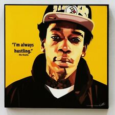 Wiz Khalifa canvas quotes wall decals photo painting framed pop art poster