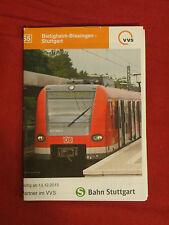 Fahrplan VVS S-Bahn S5 Bietigheim - Stuttgart Deutsche Bahn von 2016