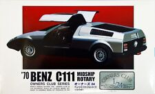 Arii Owners Club 1/24 21 1970 Benz C111 Midship Rotary 1/24 scale kit (Microace)