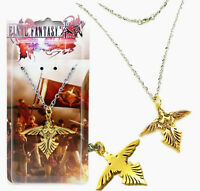 Anime Final Fantasy Type-0 HD Logo Pendant Necklace Metal Cosplay Toy Golden