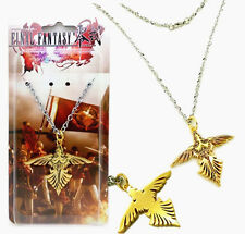 Anime Game Final Fantasy Type-0 HD Sign Pendant Necklace Metal Toy Golden New