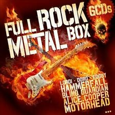 FULL ROCK & METAL BOX: THE ULTIMATE COLLECTION NEW CD