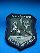 PORTUGAL PORTUGUESE AIR FORCE BASE AEREA 11 CENTRO METEOROLOGIA GREEN PATCH 85mm