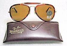 "RAY-BAN *NOS VINTAGE B&L AVIATOR TraditionalS ""Road Spirit"" W0473 NEW SUNGLASSES"