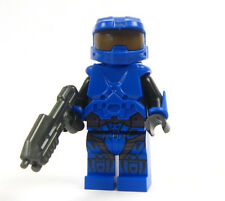 Lego custom HALO - - - - -  BLUE - - - Master Chief  Lego Halo halo Space army