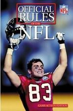 Official Playing Rules of the National Football League (Official Rules-ExLibrary
