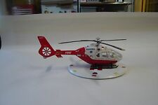 FOR CODE 3 FDNY KIT RESCUE SERVICES MEDIC HELICOPTER WITH LANDING PAD  1/64
