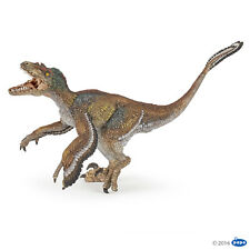 Velociraptor with feathers 7 1/8in Dinosaurs Papo 55055 NOVELTY 2016