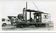 6B748 RP 1963 CORNWALL ONTARIO STREET RAILWAY LINE REPAIR CAR #5