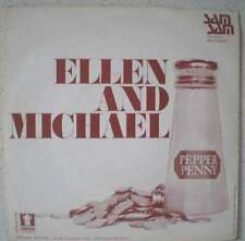 "ELLEN and MICHAEL Pepper penny RARE 7"" folk pop 1974 BELGIUM"