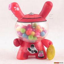 Kidrobot Dunny 2011 figure Red Bubblegum Machine by Mr. Frames MisterFrame$
