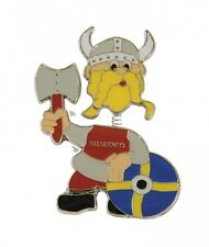NWT Ola Nesje Sweden Viking Magnet with Moving Head 21111
