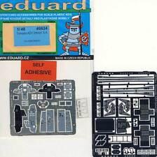 Eduard 49524 Tornado ADV INTERIOR COCKPIT Colored Etched Parts Detail Set 1:48