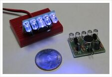 DIY Electronic Kit - Sound activated high brightness blue LED flasher music M36