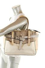 REED KRAKOFF Exotic Snakeskin Leather Canvas Boxer Bag-FABULOUS! Well Organized!